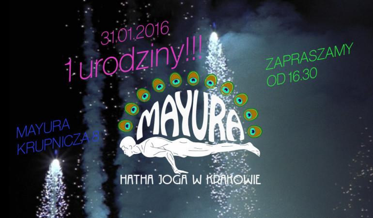 1 urodziny Mayury