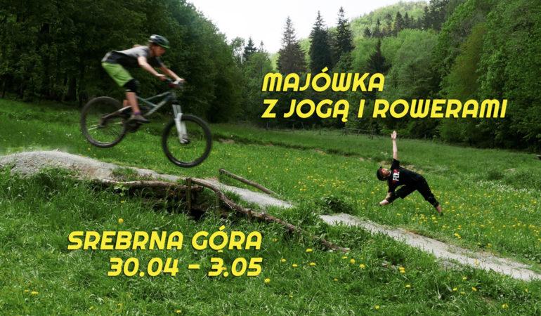 Majówka z Jogą i Rowerami, 30.04 – 3.05
